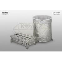 سطل و جا دستمال کاغذی