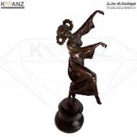 مجسمه برنز رقص و نشاط
