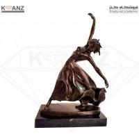مجسمه برنز رقص